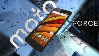 Первый в мире смартфон с Moto ShatterShield™ - Motorola Moto X Force!