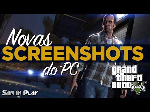 GTA V: Novas Screenshots GTA V de PC e Mais Novidades!
