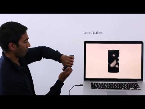 Technology turns touchscreen displays into biometric scanners