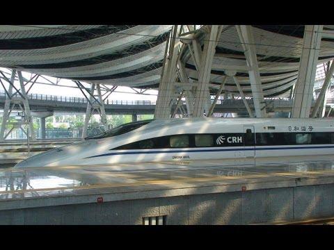 Chinese High Speed Train - Beijing to Shanghai - The return journey.