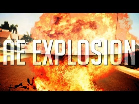 Beautiful Realistic Explosion | After Effects Cs6 Tutorial video