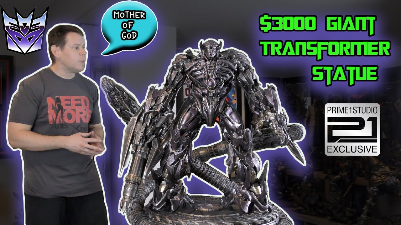 Prime 1 Studios SHOCKWAVE TRANSFORMERS Statue REVIEW