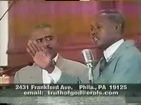 Gino Jennings discussion/debate with the Son of Man on teachings of the Nation of Islam