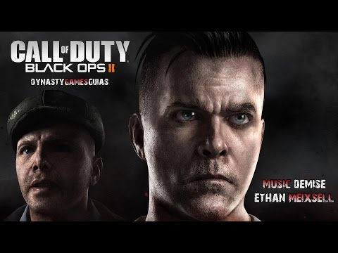 Call of Duty Black OPS II-OST Soundtrack DLC Zombie Uprising-Johnny Cash-Rusty Cage-MOB OF THE DEAD