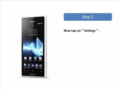 Sony Xperia S Factory Reset