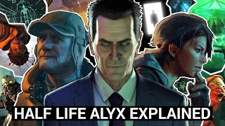 Half Life Alyx: The Story Explained