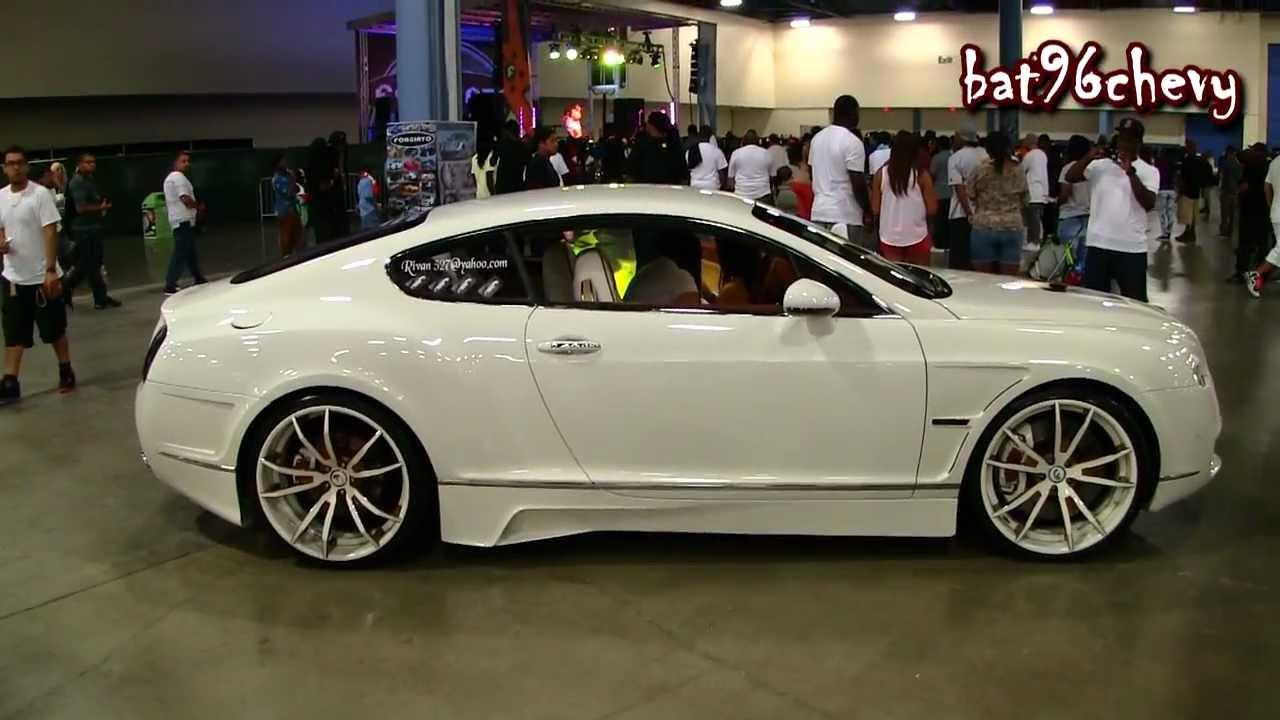 Custom Bentley Continental Gt Body Kit 22 Quot Forgiatos 2 0
