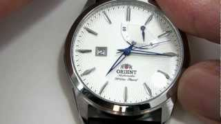 Orient Watch Millenium CFD0E002W mechanical with automatic winding system