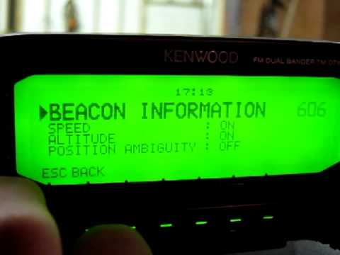 Setup APRS with Kenwood D710 and Garmin Oregon 400t