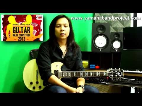 Yamaha & Laney Thailand Guitar Online Competition 2013 with Alex Hutchings and Martin Miller