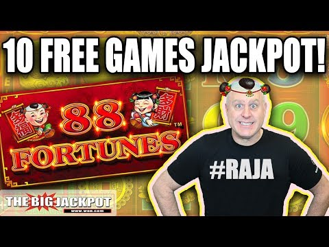 88 Fortunes JACKPOT! 💥10 Free Games WIN 💥 | The Big Jackpot