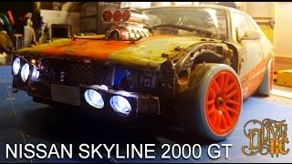 RC DRIFT CAR - NISSAN SKYLINE 2000 GT-R