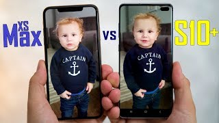 Unbiased Galaxy S10+ vs XS Max Camera Comparison
