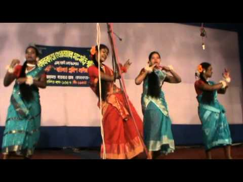 Santali Dance By Bally Belur Group At Kolkata Ma Mode 2012 video