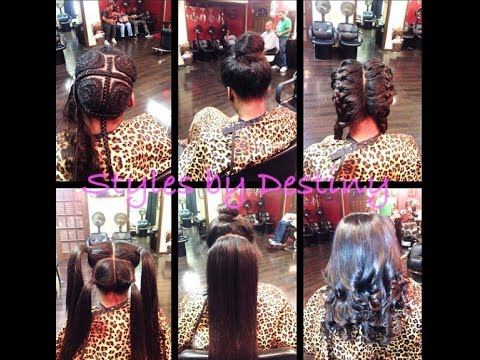 Vixen Sew In with Peruvian Natural Wave Hair