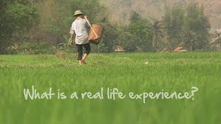 What is a real life experience?