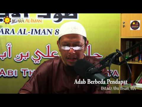 Ceramah Agama Islam: Adab Berbeda Pendapat - Ustadz Abu Ihsan, MA