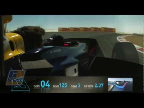 A lap of Sakhir with Mark Webber