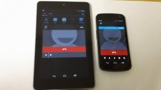 Google Nexus 7 - How To Send Text Messages and Make Phone Calls