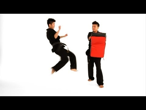 How to Do a Tornado Roundhouse Kick | Taekwondo Training Image 1