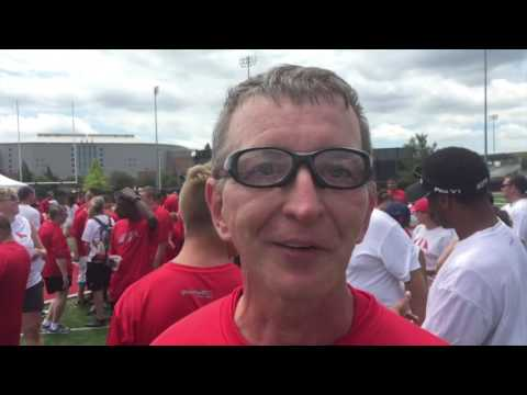 Ohio State special skills football camp, 2016