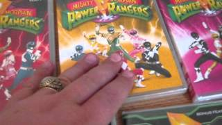 Cadvance review: MMPR Complete series boxset
