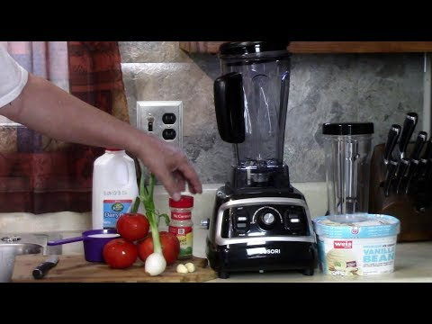 Making Hot Soup + a Cold Shake Cosori Pro Blender