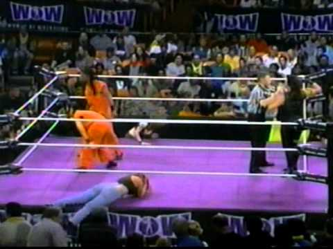Women Of Wrestling - Unleashed Ppv: Part 10 - Harley's Angels Vs Caged Heat (tag Title) video