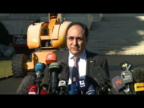 Syria's warring sides meet for talks in Geneva