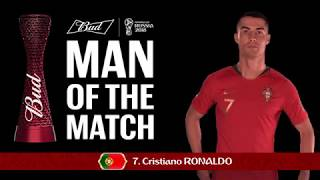 Cristiano RONALDO (Portugal) - Man of the Match - MATCH 3
