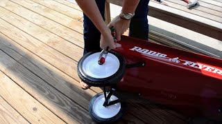 Radio Flyer Hubcap Removal