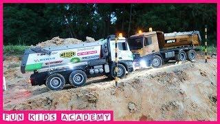Bruder Toys - Excavator, Road Roller, Dump Truck, Construction Toys for Kids - Videos for Children