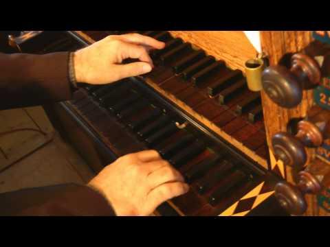 Willem van Twillert plays Canzona in G, Scheidemann  Van Deventer-organ Nijkerk [NL]