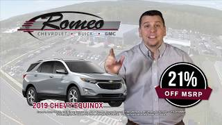 Buick Lease Deals | Huge Chevy Discounts | Romeo Chevrolet Buick GMC
