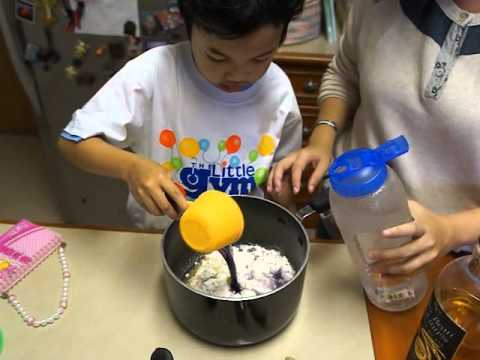 ครูบัวสอนทำแป้งโดว์ Cooked Play dough