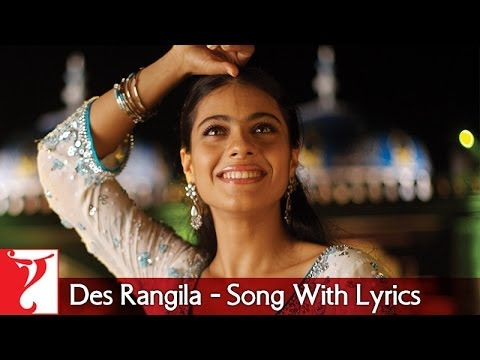 Des Rangila - Song With Lyrics - Fanaa video