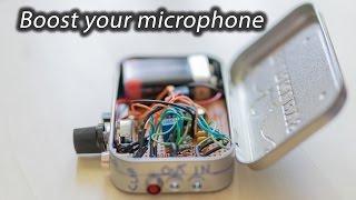 download lagu Diy Microphone Preamplifier For External Dlsr Mic gratis