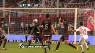 Gol de Montenegro. Independiente 2 - Lanús 1. Fecha 16. Torneo Primera División 2014. FPT