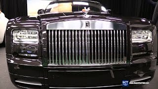 2016 Rolls-Royce Phantom Drophead - Exterior and Interior Walkaround - 2016 Montreal Auto Show