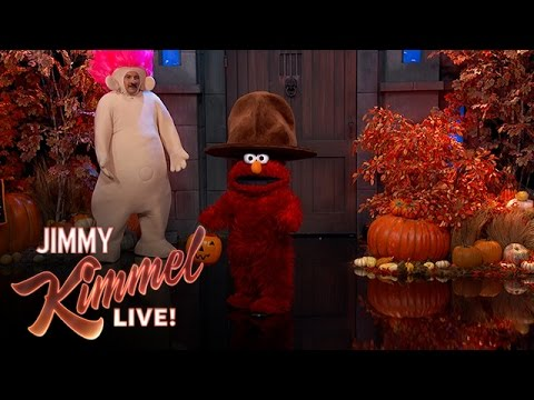 Jimmy Kimmel Live Half and Half Halloween Pageant