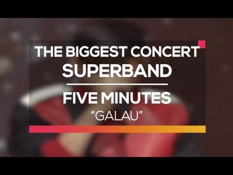 Five Minutes - Galau (The Biggest Concert Super Band)