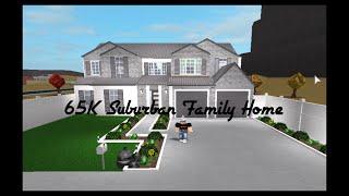 65K Suburban Family Home | Roblox Bloxburg