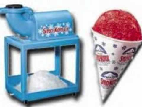 snow cone machine rental miami