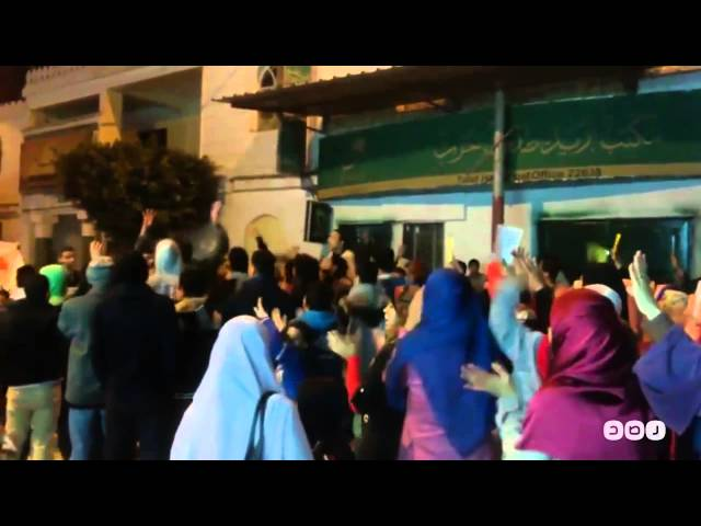 رصد | ثوار كفر الدوار يواصلون انتفاضتهم فى مسيرة حاشدة  ضد الانقلاب العسكرى