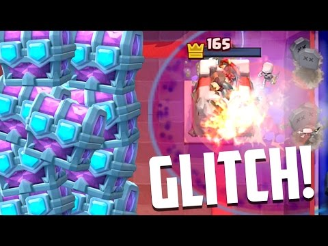 Clash Royale - ALL DRAFT CHEST OPENINGS! & Healing Zap Glitch?
