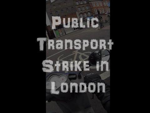 Public Transport Strike in London