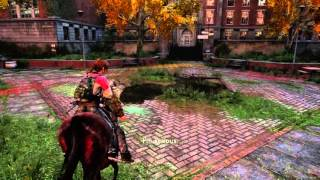 The Last of Us™ Remastered Gameplay : Horse riding with Ellie