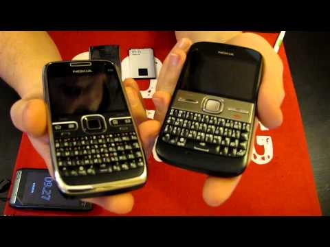 Nokia E5 vs Nokia E72 [HD]
