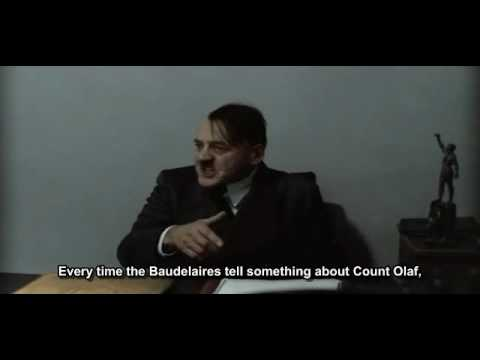 Hitler tells something about Mr. Poe of A Series of Unfortunate Events