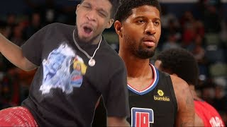PAUL GEORGE DEBUT BABY!! Los Angeles Clippers vs New Orleans Pelicans - Full Highlights